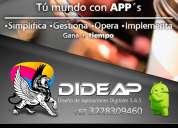 Desarrollamos aplicaciones móviles e inteligentes para la gestión de tu empresa