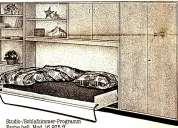 Herrajes para cama abatible de empotrar en la pared