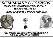 Reparacion de ventiladores industriales en cali