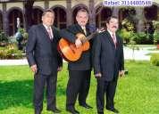 Serenatas bogota, trio musical bogota, boleros, baladas, tangos, rancheras
