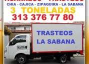 Acarreos pequeÑos, trasteos, mudanzas, transporte de carga, furgon, camión