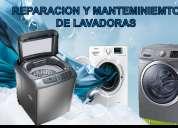 mantenimiento y reparación de lavadoras, neveras, secadoras y nevecones