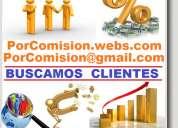 Por comision, mas ventas, mas clientes, mas contratos, vendedores, publicistas, publicidad