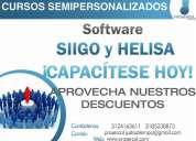cursos personalizados siigo-helisa-world office-fenix crm/erp-ofi