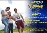 camiseta videojuego pokémon go-camisetas pokemon go para todo entrenador y fan en bogota