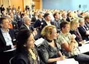 Intérpretes para eventos empresariales. portugués, español, inglés. grand events.