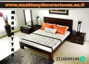 Promoción alcobas, dormitorios,camas, alcoba desde $690.000