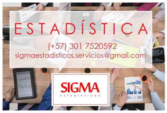 Clases de Estadística. Estadística. Asesorías para tesis de grado, capacitaciones, análisis de d