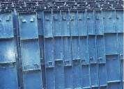 Formaleta metalica para muro y columna