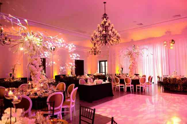 Servicio de iluminación ambiental para bodas y eventos en cartagena