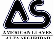 American llaves alta seguridad s.a.s  técnicos cerrajeros. cambio de guardas
