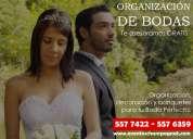 Organizacion de bodas cali