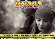 Oriana diosa del amor hechicera clarividente