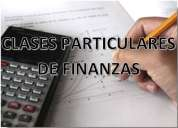 clases particulares finanzas medellín