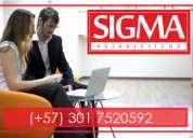 Probabilidad y Estadística. SigmaEstadísticos. Clases, asesorías, trabajos, análisis de datos.