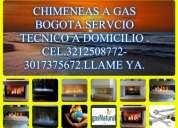Reparacion y mantenimiento de chimeneas a gas en bogota.3212508772
