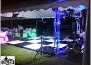 Alquiler pistas de baile salas lounge iluminadas medellin