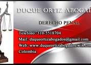 Abogados especialistas en derecho penal bogota d&o