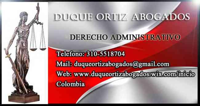 DEMANDAS CONTRA EL ESTADO, ABOGADOS ADMINISTRATIVOS EN BOGOTA