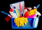 Servicio de aseo por dias, semans ,meses en casas o grandes superficies,locales comerciales y centro