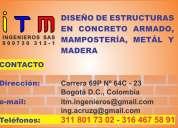 Licencia de construcciÓn, diseÑo estructural, cÁlculo de estructuras, bogotÁ d.c.
