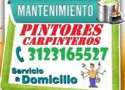 Pintores, carpinteros, a domicilio,  muebles, madera, reparacion, pintura, camas, mesas, puertas
