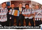 Parranda vallenata grupo relieve bogotá