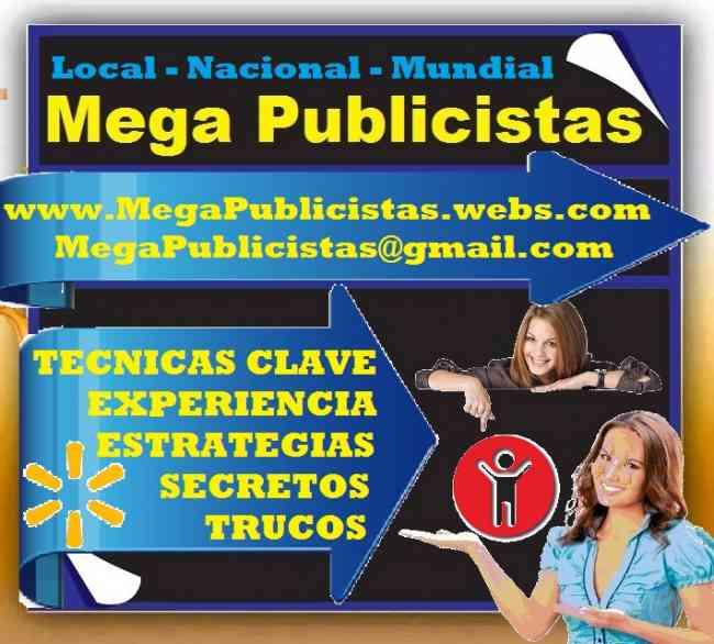 PYP. PAGINA Y PUBLICIDAD.  Mega Publicistas, Super Vendedores, Po