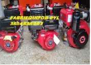 Rana compactadora con motor diesel y gasolina