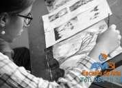 Cursos de dibujo artístico y pintura para niños y jóvenes – salitre.