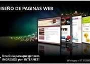 Se necesita promotor de paginas web. oportunidad!.