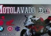 Excelente moto lavado excelente oportunidad