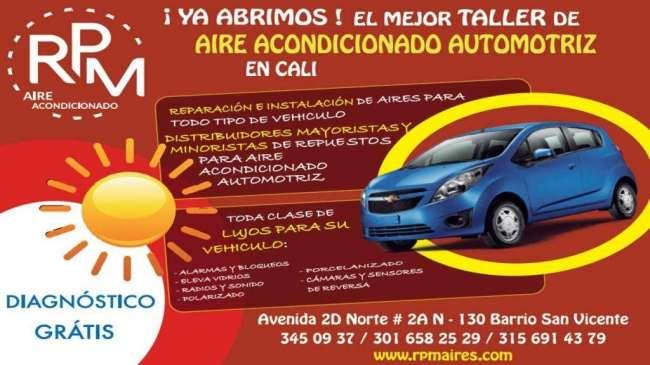 SOLUCIONES EN AIRE ACONDICIONADO AUTOMOTRIZ