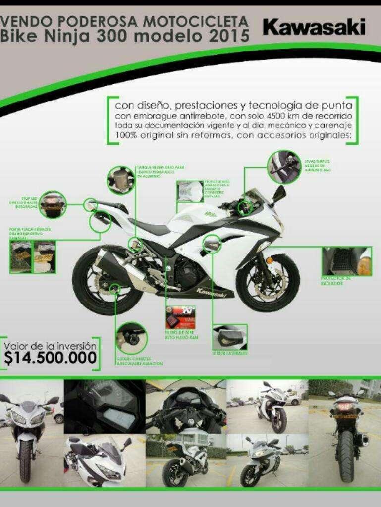 Se Vende Excelente Kawasaki Ninja 300