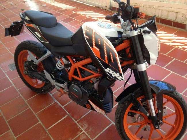 Vendo Excelente Moto Ktm 390
