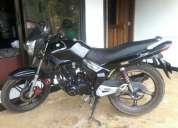 Moto abc 125 modelo 2012 negra.