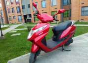 Vendo moto honda elite