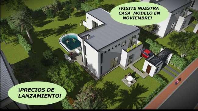 Casas Bioclimáticas e inteligente en Condominio Campestre