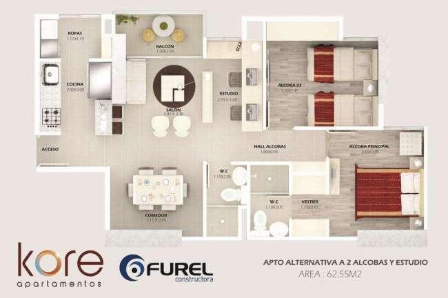 Excelente Apartamento entrega 2017 SABANETA