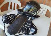 Oportunidad!. casco, pechera y guantes fox