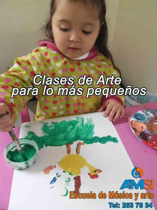 CLASES EN GRUPO DE MÚSICA, PINTURA Y DIBUJO para toda la familia