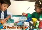 Academia de dibujo, pintura, origami, caricatura,plastilina