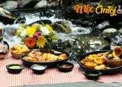 Excelente local acreditado de comida valluna