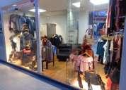 Boutique de ropa para dama y caballero en venta.