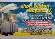 TÉcnico electricista profesional, contactarse.