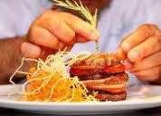 Chef cocinero con amplia experiencia.