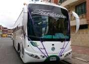Vendo bus hino rk de servicios especiales o turismo