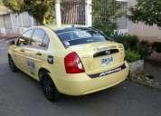 Excelente taxi en buen estado