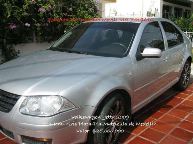 SE Vende Carro Volkswagen, Modelo Jetta 2009, Contactarse.