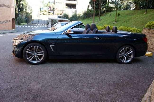 Vendo no cambio BMW 428i con 3.800 Km, modelo 2015